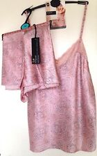 Silk Camisole & French Knickers M&S Rosie Autograph Var Szs PINK RRP £64.50 BNWT