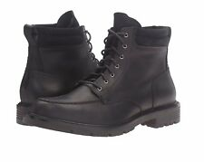"""NEW Mens COLE HAAN Black Leather GRANTLAND 6"""" WATERPROOF Lace Up Boots Shoes"""
