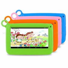 7'' inch Kids Android Tablet PC Quad Core Dual Camera Child Children Learning HD