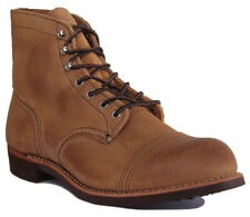 Red Wing 8083 Iron Ranger Men Suede Leather Rust Ankle Boots