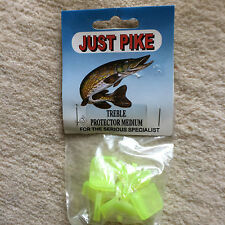 5 x Treble Hook Protectors / Caps / Covers for snap pike tackle Small