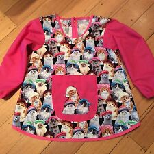 Art Smocks/Apron- Custom Order, Made to Order Hand Made, In 4 Sizes Long Sleeve
