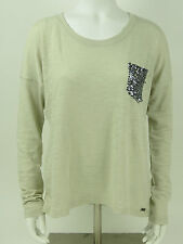 Superdry Shirt - Shimmer Luxe Pocket-Top - gs6jt064 NLY - Dusty White +NEW+