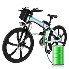 26'' Electric Bike Mountain Bicycle 36V 250W Lithium Power 21 Speed Folding Bike