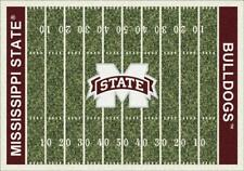 Mississippi State Bulldogs Football Field Rug