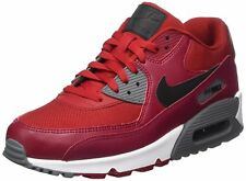 Nike 537384-606 : Mens Air Max 90 Essential Running Shoes Gym Red/Black