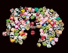 100 PCS Clay Beads DIY Slices Mixed Color Fimo Polymer Clay UTAR 01