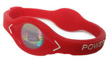 Red Power Balance Energy Health Original Bracelet Silicone Hologram code