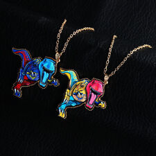 Necklace Dinosaur Acrylic 1 Pcs Colorful Pendant Retro Sweater Chain Women Long