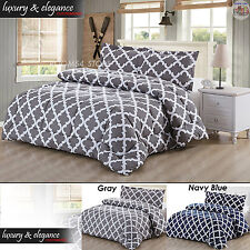 Comforter Soft Microfiber Comforter Set King/Queen Coverlets Duvet Pillow Shams