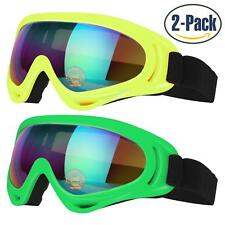 Ski Goggles, Pack of 2, Snowboard Goggles for Kids, Boys & Girls, Youth, Men...