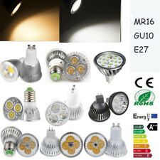 Cree/Epistar 9/12/15W  LED Spotlight Lamp Warm Cool White Bulb E26/27 MR16 GU10
