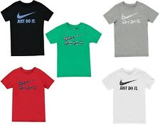 Nike Just Do It Swoosh Official Licensed Junior Kids T-Shirt - Various Colours