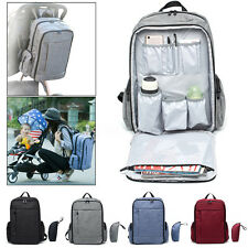 New Multifunctional Mummy Backpack Baby Newborn Pad Nappy Diaper Changing Bags