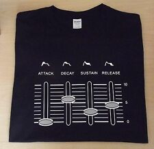 RETRO SYNTH SYSTEM 100 101 SEMI MODULAR SYNTH ADSR DESIGN T SHIRT S M L XL XXL