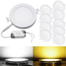 Christmas Deal Dimmable LED Recessed Ceiling Panel Light Bulb Fixture Floodlight