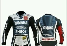 YAMAHA ENEOS Racing Motorbike Leather Jacket Mens Motorcycle Leather Jackets