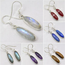 925 Sterling Silver Bestseller Highly Polished LONG Earrings ! Birthday Present