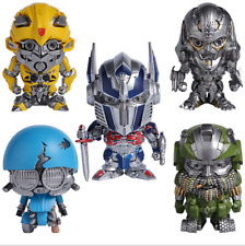 Transformers Mini Action Figures Kid Doll Toy Model Bumble Bee Robots Collection