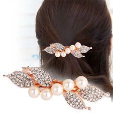 Flower Hair Clip Cute Colorful Bows Hairpin Shinning Crystal Rhinestones Hairpin