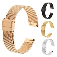 Stainless Steel Magnetic Bracelet Strap Mesh Replacement Milanese Watch Band