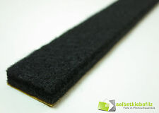 Felt Strip 1 9/16in Wide, 0 1/4in Thick AB 3 3/12ft - Felt Band Black - Strong