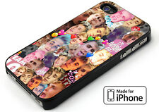Jake Paul Face Collage For Cover iPhone 5 5s 6 6s 6+ 6s+ 7 7+ TPU Rubber Case