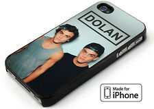 Dolan Twins Ethan and Grayson Cover iPhone 5 5s 6 6s 6+ 6s+ 7 7+ TPU Rubber Case