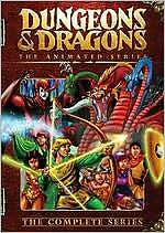 D&D Dungeons & Dragons Cartoon The complete animated series on DVD CBS