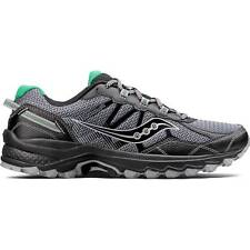NEW Mens SAUCONY Grey Black Green Mesh EXCURSION TR11 TRAIL Running Shoes