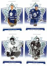 2017-18 Toronto Maple Leafs Centennial DIE CUT  *PICK*