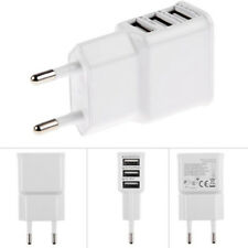 5V 2A 3 USB Phone Charging Charger Wall Adapter For iPhone Samsung EU/US Plug