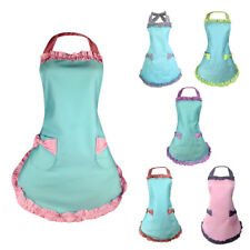 Eleglant Princess Apron Kitchen or BBQ with Big Pocket for Cooking Claning