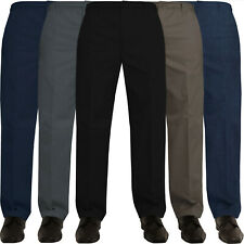 New Mens Kruze Elasticated Rugby Trousers Pants Relaxed Regular Fit Big Sizes