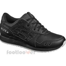 Asics Gel Lyte III HL701 9090 EB mens running black shoes trainers casual