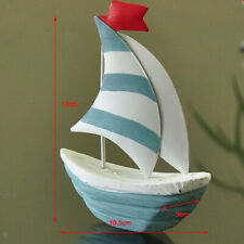Wooden Buoy Wooden Wood Sailboat Ship Kits Home Model Decoration Boat Gift Toy