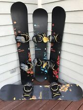 Burton Cruzer V-Rocker w/ Large Burton Progression Bindings *GREAT CONDITION*