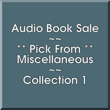 Audio Book Sale: Miscellaneous (1) - Pick what you want to save