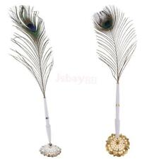 Antique Feather Pen with Holder Wedding Guest Signing Pen Set Gold/Silver