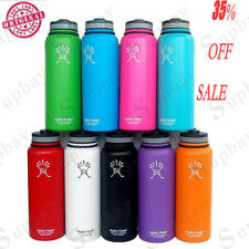Genuine 32oz/40oz Hydro Flask Insulated Stainless Steel Water Bottle Wide Mouth