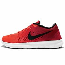 Nike Womens Free RN Running Shoes Total Crimson/Black/Gym Red 831509-801 Size 6