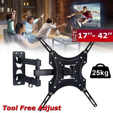 LCD LED PLASMA FLAT TILT TV WALL MOUNT BRACKET 32 40 46 50 55 60 65 FREE