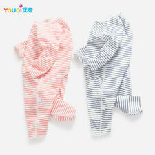 Lovely Striped Rompers for Baby Cotton 3 6 9 Months Girls Boys Clothes Pajamas