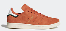 NEW adidas Originals STAN SMITH CQ3091 Hairy Suede Trace Orange Casual Shoes