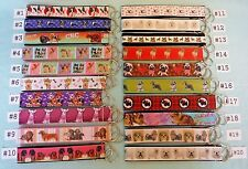 Key Chains Key Fobs -- DOGS, TOY AND SMALL BREEDS *Ship Up to 10 for $1.98*