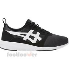 Asics Lyte Jogger HN7Z2 9001 Mens Black White Shoes Casual Running Sneakers