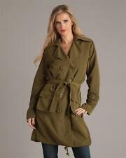 G.E.T. DRAWSTRINGS TRENCH COAT, BLACK OR OLIVE
