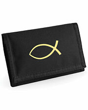 Wallet Christian Ichthys Symbol Fish Christian Gift Ichthus Mothers Day Gift