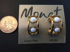 Monet Jewelry Multi Style Necklaces Earrings New Old Stock Signed Unworn