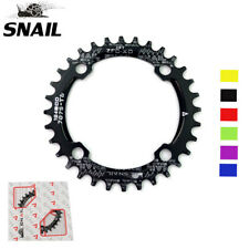 SNAIL BCD104mm 32T-42T MTB Bike Chainring Round/Oval Narrow-Wide Chain ring